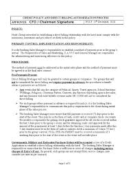 hotel accounting policies and procedures manual credit card