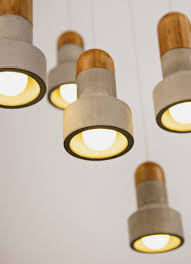 Unique Pendant Lights by Unusual Pendant Lamp That Made Of Bamboo And Concrete U2013 And