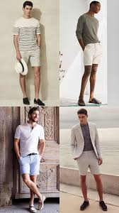matching shoes for him and the right shoes to wear with shorts fashionbeans
