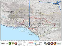 Wildfire Map A Guide To Thomas Fire Maps Local News Noozhawk Com
