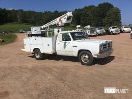 1988 dodge cer telsta a28c on 1988 dodge d 350 truck in rice lake