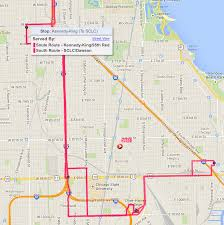 Red Line Map Chicago by City Colleges Students Have New Faster Transportation Option