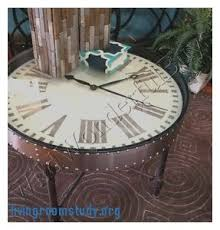 Clock Coffee Table by Living Room Coffee Table With Clock Top Impressive Coffee Table