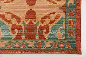 southwest area rugs bungalow rose rune peach area rug u0026 reviews wayfair