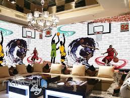 3d graffiti basketball dunk brick wall murals wallpaper wall art 3d graffiti basketball dunk brick wall murals wallpaper wall art decals decor idcwp ty