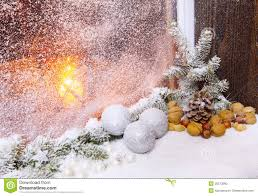 Christmas Window Decorations by A Christmas Window Decorations Stock Photo Image 35573990
