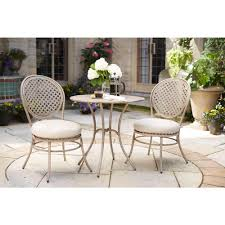 Wrought Iron Cafe Set by Patio Cafe Set Bistro Sets Patio Dining Furniture The Home Depot