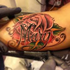 25 beautiful rose tattoo with name ideas on pinterest rose with