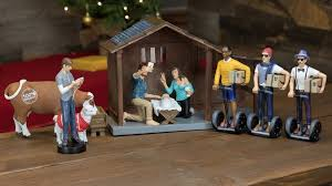 even atheists will want this themed nativity