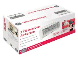 Mitsubishi Electric Air Curtains Prem I Air Elite Eh1688 Ptc Over Door Air Curtain Heater Fan With