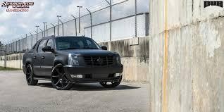 cadillac escalade black rims cadillac escalade ext dub future s127 wheels gloss black