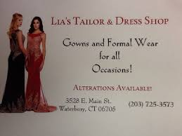 lia u0027s tailor u0026 dress shop bridal 464 reidville dr waterbury