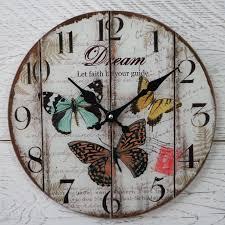 Shabby Chic Wall Clocks by Shabby Chic Wall Clock Ebay Wall Clocks Decoration