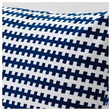 stockholm 2017 cushion blue white 50x50 cm ikea