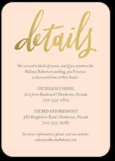 enclosure cards custom color enclosure cards for wedding invitations shutterfly