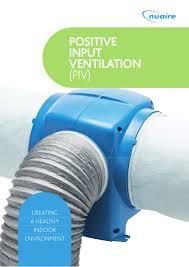 positive input ventilation piv