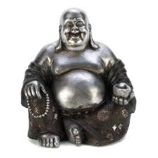 amazon com gifts u0026 decor happy sitting buddha inspirational