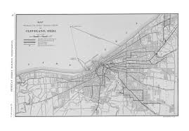 Cleveland Map Mcgraw Electric Railway Manual Perry Castañeda Map Collection