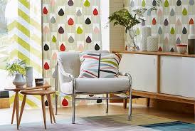Geometric Curtain Fabric Uk Lohko Fabrics By Scion Style Library