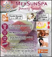 mex sun day spa and beauty salon san jose del cabo los cabos