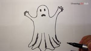 so cute ghost for halloween 2017 how to draw a ghost for