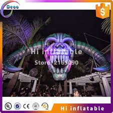 aliexpress com buy 7m wide 4m high outdoor inflatable skull head