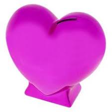 heart shaped piggy bank heart shaped jewelry pink you