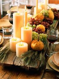 Decorate Table For Thanksgiving Thanksgiving Candle Centerpiece Idea Family Holiday Net Guide To