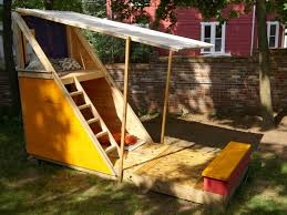 fun backyard playhouse plans design and ideas of house