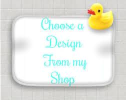 Duck Bathroom Rug Custom Rug Etsy