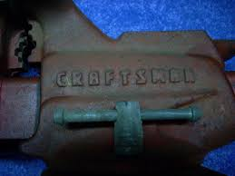 craftsman 506 51800 swivel bench vise with pipe jaws made in