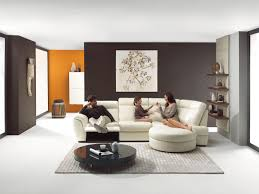 decorations awesome white penthouse family room interior