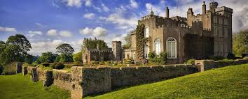 small houses that look like castles the home of devon powderham castle