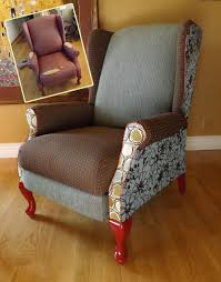 Chair Upholstery Prettiest Non Professional Wing Chair Upholstery Ever U2013 Diypics