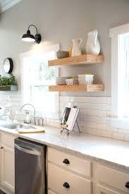 open shelves in kitchen ideas white kitchen subway tile backsplash best subway tile kitchen