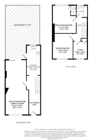 Terraced House Floor Plan by 3 Bedroom Terraced House For Sale In Wilson Grove Bermondsey