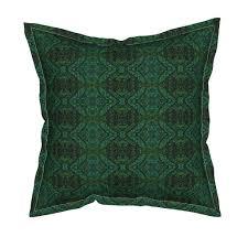 serama throw pillow featuring krlgfabricpattern 112f1larg by