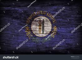 Kentucky Flags Kentucky Flag Pattern On Wooden Board Stock Photo 277772042