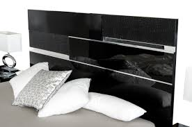 Modern White And Black Bedroom Modrest Ancona Italian Modern Black Bedroom Set