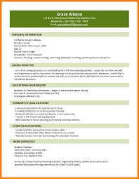 Forklift Experience On Resume 6 Resume Samples For Fresh Graduates Forklift Resume