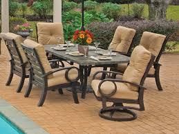 Aluminum Patio Dining Table Tips Treatment Aluminum Outdoor Furniture Furniture Ideas And Decors