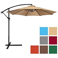 Patio Offset Umbrellas Best Choice Products Patio Umbrella Offset 10