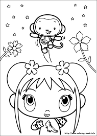 ni hao kai lan coloring pages coloring book