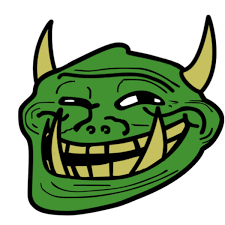 Troll Face Know Your Meme - classic troll trollface trollface coolface problem know