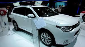 2013 mitsubishi outlander interior 2013 mitsubishi outlander phev hybrid exterior and interior