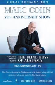 The Blind Boys From Alabama Marc Cohn U0027s 25th Anniversary Show Featuring Special Guests The