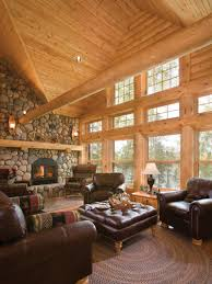 the hearth is the heart of a home cabin living