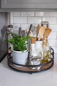 kitchen counter decor ideas home tour kitchen tray and kitchens