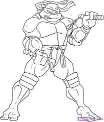 ninja turtle michelangelo coloring pages getcoloringpages com