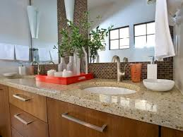 bathroom counter organization ideas 5 easy ways to declutter your bathroom countertop hgtv